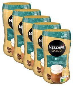 Nescafe Gold Typ Latte Getränkepulver Instant Latte 250g 5er Pack