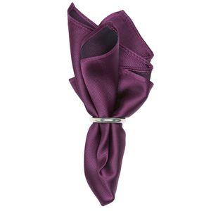 J.Ploenes Seiden-Einstecktuch in violett, Einheitsgroesse:one size