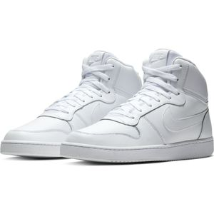 NIKE Ebernon Mid Herren Sneaker Weiß Schuhe, Größe:44