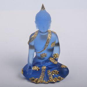 1 Stü Meditieren Buddha Statue Mönche Figur Für Home Office Dekoration