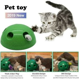 Kermior Elektrisches Katzenspielzeug Zum Mäusejagen Maus Interaktives Teaser Spielzeug