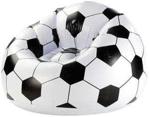 Amscan 9900298 2.Wahl - Sitzsack, aufblasbarer Fußball-Sessel