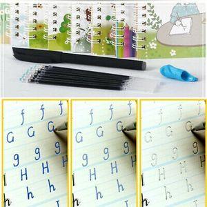 Magische Kalligraphie, die wiederverwendet werden kann Handschrift Copybook SetN-