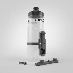 Fidlock Trinkflasche & Halterung Twist 600 ml , Transparent