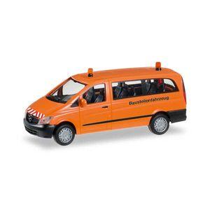 Herpa 092555 Mercedes-Benz Vito Bus Baustellenfahrzeug 1:87