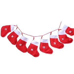 Adventskalender zum selbstbefüllen mit XXL Socken
