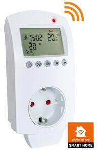 Heidenfeld digitales Steckdosenthermostat programmierbar Stecker Alexa SmartHome
