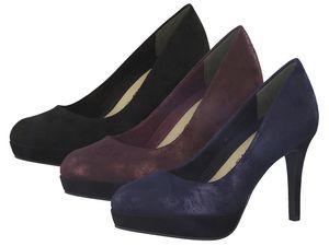 Tamaris 1-22414-21 Schuhe Pumps Plateau Stiletto , Größe:39 EU, Farbe:Blau