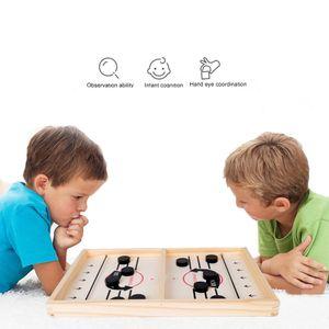 56*29.5cm Bouncing Chess Hockey Game Eltern-Kind Interaktives Schach Katapult Brettspiel Desktop Hockey Toys - Lernspielzeuge Mitbring- & Reisespiele