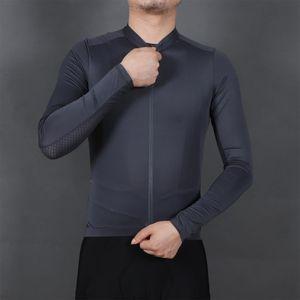 Frühlings-Sommer-Mannschaft-lange Hülse, die Jersey Fahrrad Seamless Shirt -(XXL,)