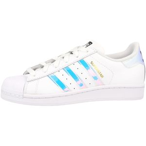 adidas Superstar Junior Turnschuhe Sneaker Weiß Schuhe, Größe:38
