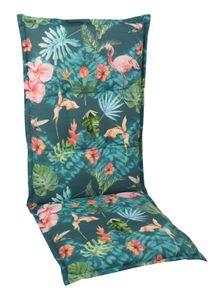 GO-DE Textil, Sesselauflage hoch, Flamingo bunt, 2961-01