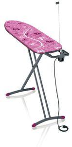 Leifheit Bügeltish Air Board M Solid Plus grey pink