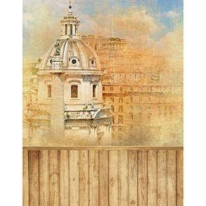 ECZJNT 150x220 cm Mittelalter Schloss Fotografie Studio Hintergrund Hintergrund