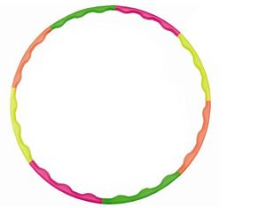 Hudora Hula Hoop Reifen 60 - 90 cm