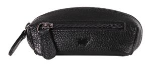 Braun Büffel Prato Key Case Black
