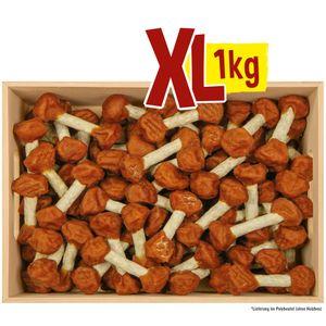 Hundesnack Hantel mit Hühnchenfleisch 1 kg als besonderes Leckerli