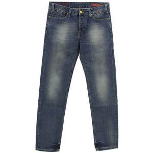 23850 Cross, Jack Regular Tapered,  Herren Jeans Hose, Denim ohne Stretch, blue, W 32 L 34