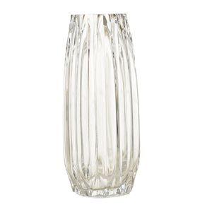 Transparent Blume Vasen Verdickt Kristall Glas  Vase für Home Hochzeit Tabletop Decor Geschenk Farbe 31cm klar