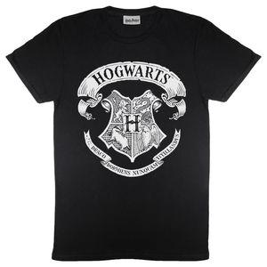 Harry Potter - Mono Logo T-Shirt für Herren PG565 (XL) (Schwarz)