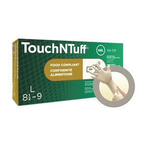 Ansell Einweghandschuhe Einmalhandschuhe TouchNTuff 69-318, Box a 100 Stück Größe: 6,5-7