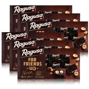Ragusa for Friends Noir - Pralinen aus dunkler Schokolade 132g (6er Pack)