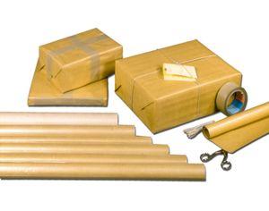 Packpapierrolle 1 m x 10 m, braun, Menge: 1 (Neu)