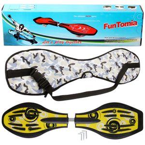 FunTomia® mit LED-Rollen - 2841 - Design  Spirale - Waveboard ORIGINAL