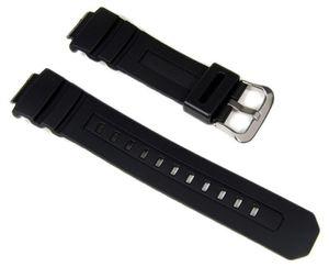Casio Uhrenarmband Resin schwarz für AWG-100 AWR-M100 G-7710