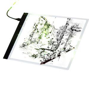 A4 LED Zeichenbretter Zeichenbrett Kopierfelder Art Light Box