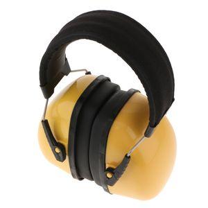 professionelle Gehörschutz Schallschutz-Headset Ohrenschützer Anti-Noise-gelb Gelb wie beschrieben