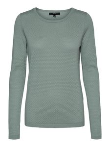Vero Moda Damen Pullover 10137199 Jadeite