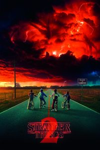 Stranger Things Poster Season 2 91,5 x 61 cm