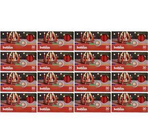 480er (16x30) Bolsius Pyramidenkerzen 70 x 14 mm, rot