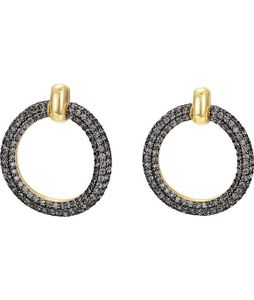 ESPRIT Glamour Damen-Ohrstecker ES-PERIBESS GOLD teilvergoldet Zirkonia transparent - ESER02690B000