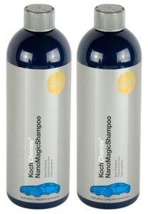 2x KOCH CHEMIE Nano Magic Shampoo Autoshampoo Glanzshampoo Autoreinigung 750 ml