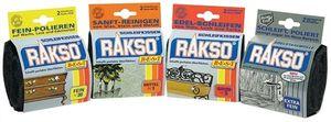 Rakso Schleifkissen  Fein  / 00   2 Stück Stahlwolle  020210