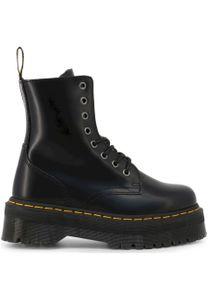 Dr. Martens Jadon Polished Smooths Damen Boots Stiefel Schuhe Schwarz, Größe:38