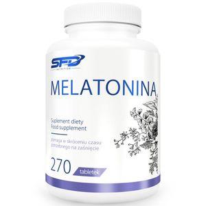 Melatonin Schlaftabletten 270 Tabletten Erschöpfung Erholung zum besser einschlafen