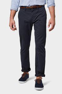 Tom Tailor Travis Herren Chinohose Regular mit Gürtel, Tom Tailor Farben:Outer Space Blue, Jeans Größen:W32/L34