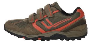 Killtec Klett Sneaker mud/orange, Kinder:27 EU
