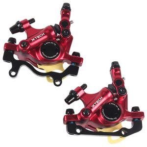 Fahrrad Hydraulische Scheibenbremse Vorne Hinten Bremssaettel Radfahren MTB Faltrad Hydraulische Bremse Fahrradzubehoer