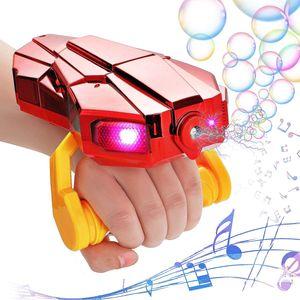 NightyNine Seifenblasenmaschine Kinder Bubble Machine Automatischer Seifenblasen Spielzeug Kinder Seifenblasen mit Musik Geburtstag Geschenk