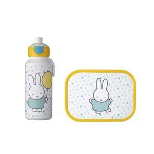 LUNCHBOX mit TRINKFLASCHE für Kinder Brotdose Kunststoff Frühstücksbox MEPAL