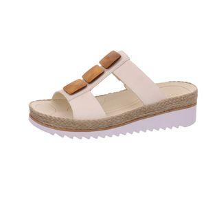 Gabor Shoes     weiss komb, Größe:9, Farbe:panna (holz) 4