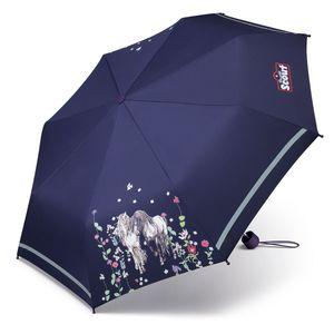 Scout Regenschirm Taschenschirm Pferde