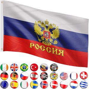 FLAGMASTER® Fahne Russland Flagge