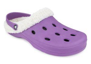 Romika Grizzly 11401 Clog Purple Größe 40 Uni Clog aus EVA mit Teddyfutter