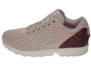 Adidas Sneaker ZX Flux W Grey / Grey / Pink, Größe:39 1/3