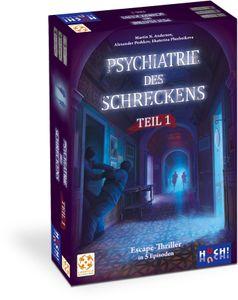 HUCH 881205 Psychiatrie des Schreckens Teil 1 & 2 Bundle, Escape Room